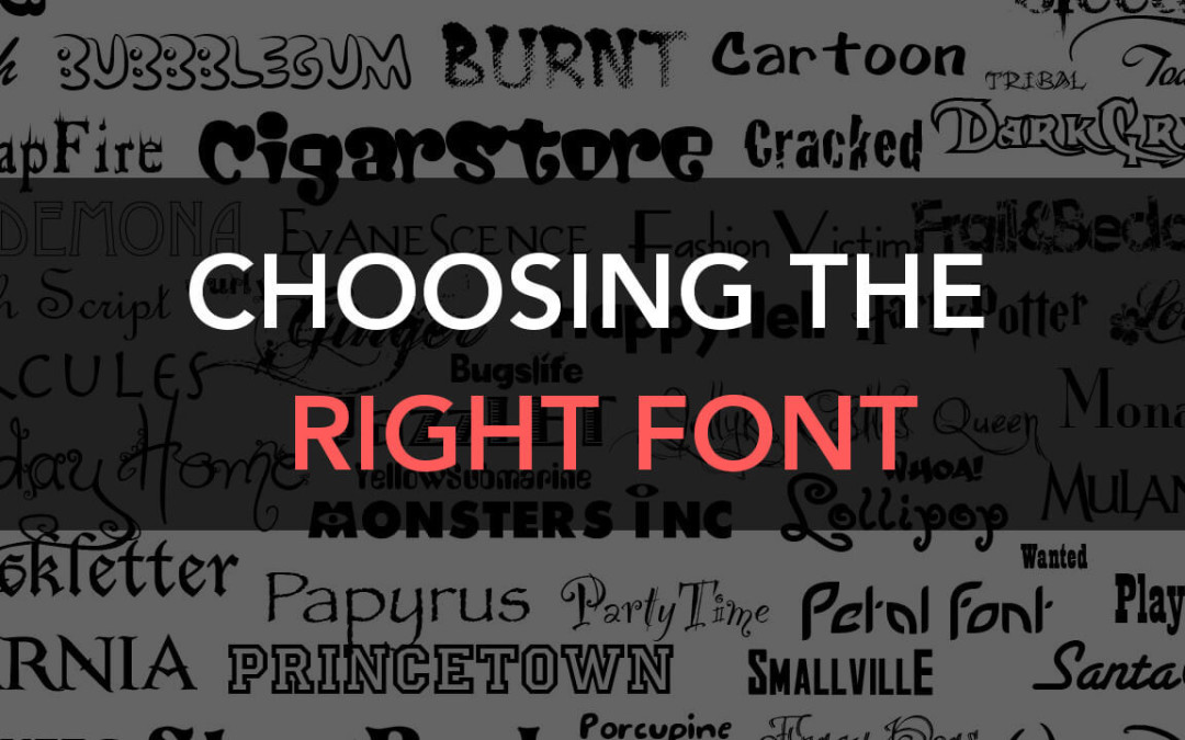 The Definitive Guide to Choose the Best Fonts for Graphic Designers