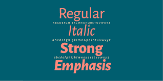 alegreya font style