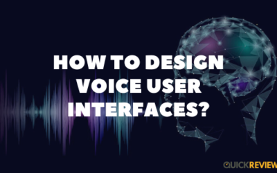 How to Design Voice User Interfaces?