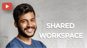 how to create a shared workspaces in qr