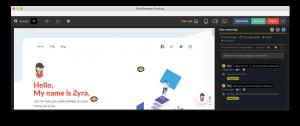 website proofing software