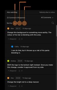 sort comments pdf