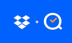 dropbox and qr integration