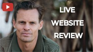 live website review in qr