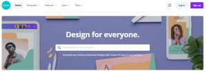 canva - graphic design tool