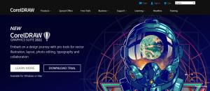 Corel draw - graphic designing tool
