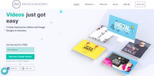 Designwizard - Image and videos design software