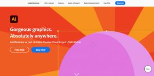Adobe illustrator - graphic design software