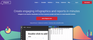 infogram - infographics designing tools for marketers
