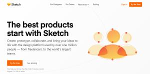 Sketch - prototype creation tool for agencies