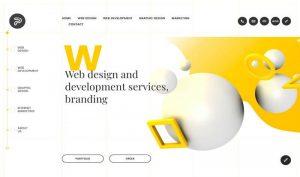 asymmetric web design