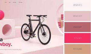 pastel website design