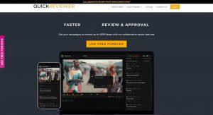 dark theme website design