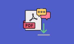download pdf comments features